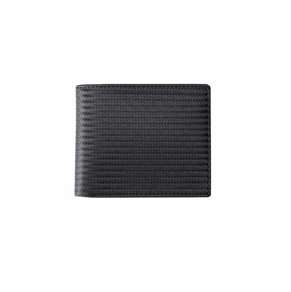 Leather Carbon Fibre Pattern Wallet
