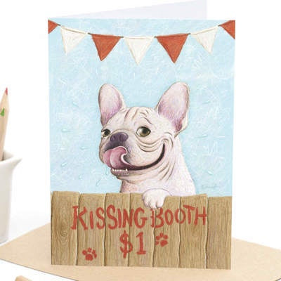 Kissing Booth - Greeting Card