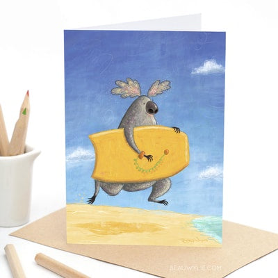 Koala Boogie - Greeting Card