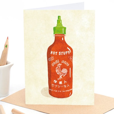 Hot Stuff - Greeting Card