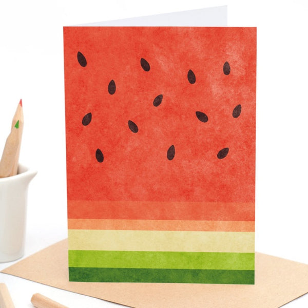 Watermelon - Greeting Card
