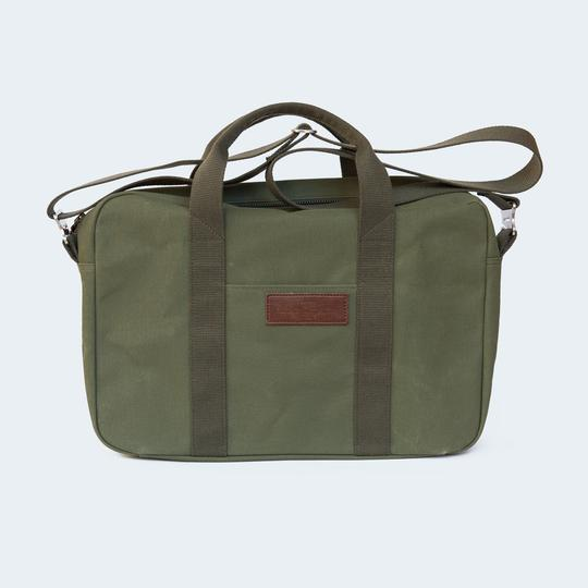 ATKM Canvas Briefcase