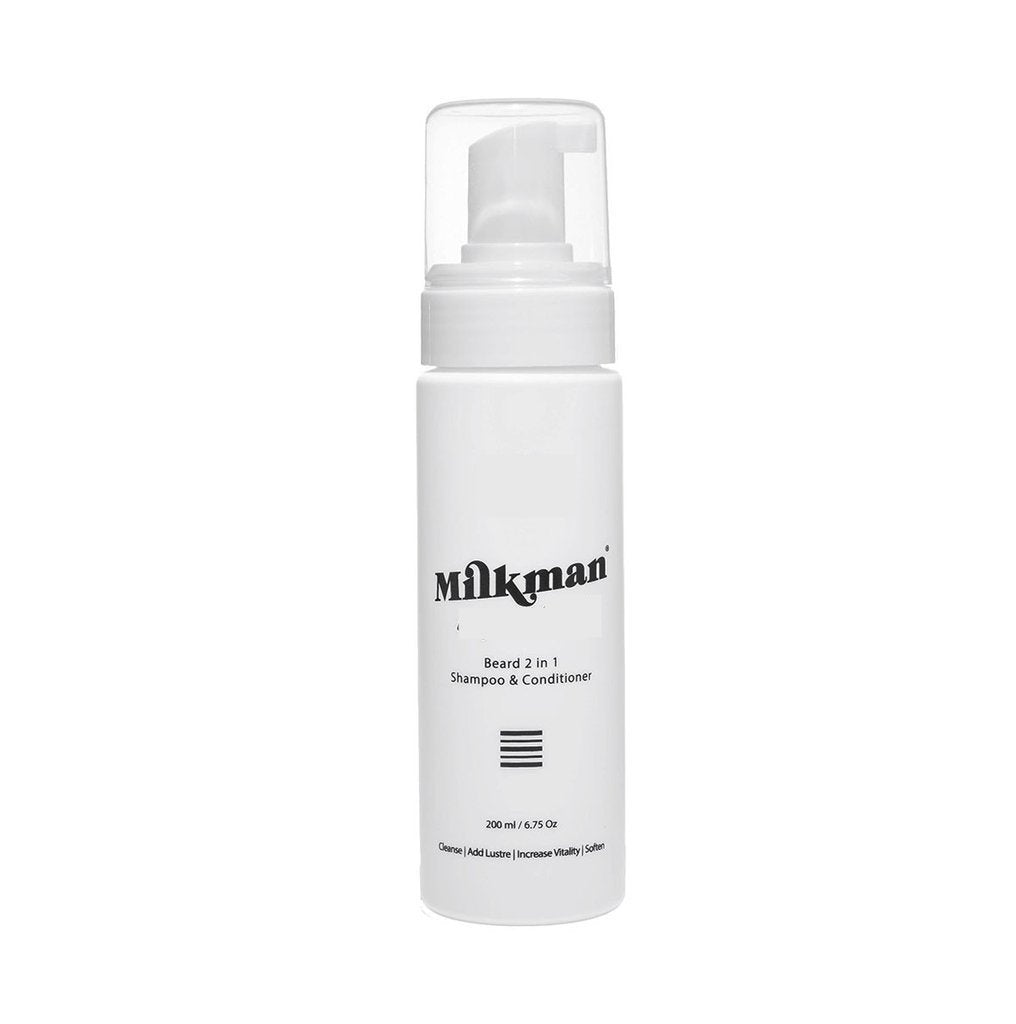 Milkman Furiously Nude Beard 2 in 1 Shampoo & Conditioner 200ml