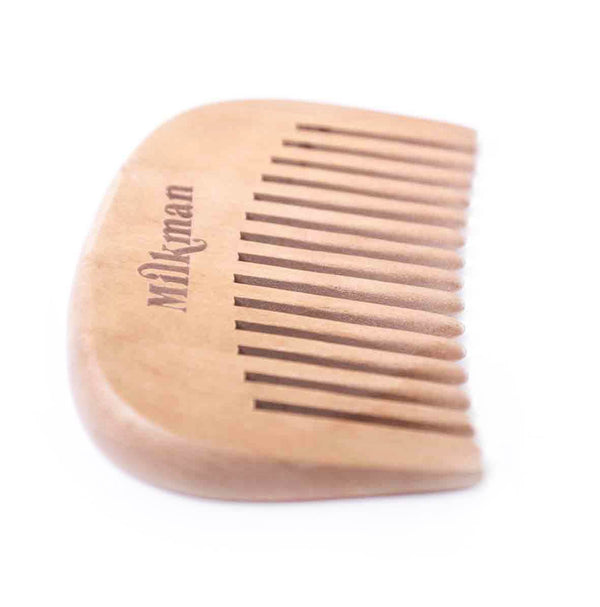 Milkman Beard Comb Pear Wood