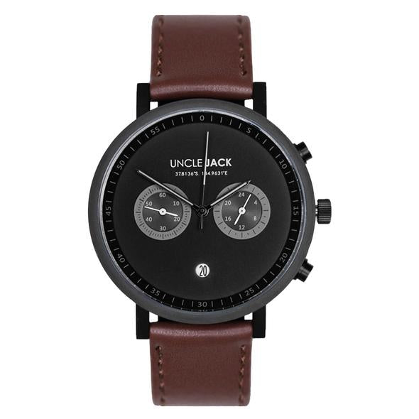 Uncle Jack Chrono Black Brown