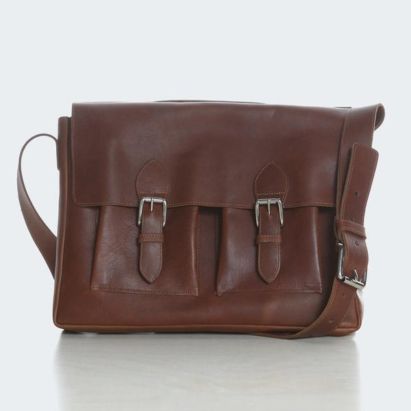 ATKM Classic Leather Satchel
