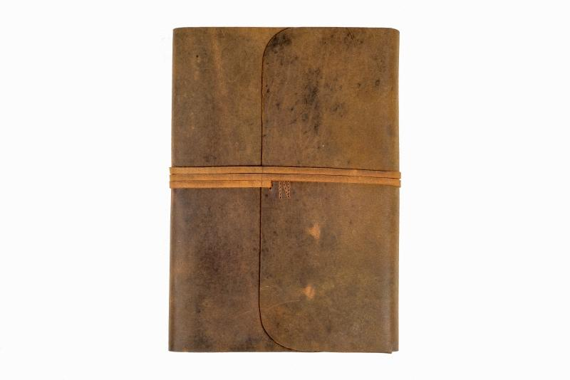 Leather Journal - Refillable Hardcover A4