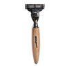 Milkman Mach 3 Razor Light Wood