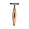 Milkman Classic Single Blade Safety Razor - Beechwood