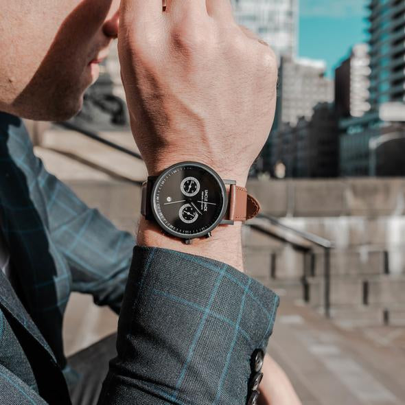 Chrono Black Brown