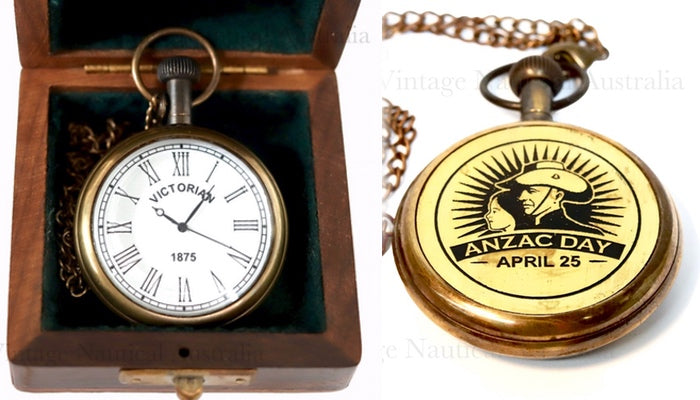 Pocket Watch- Anzac Day