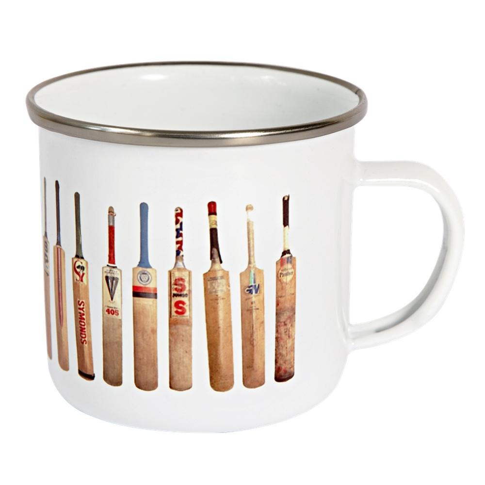 Bat Line Up Enamel Mug