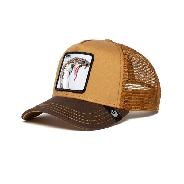 Goorin Bros Animal Farm Trucker Hat Brown Biter King