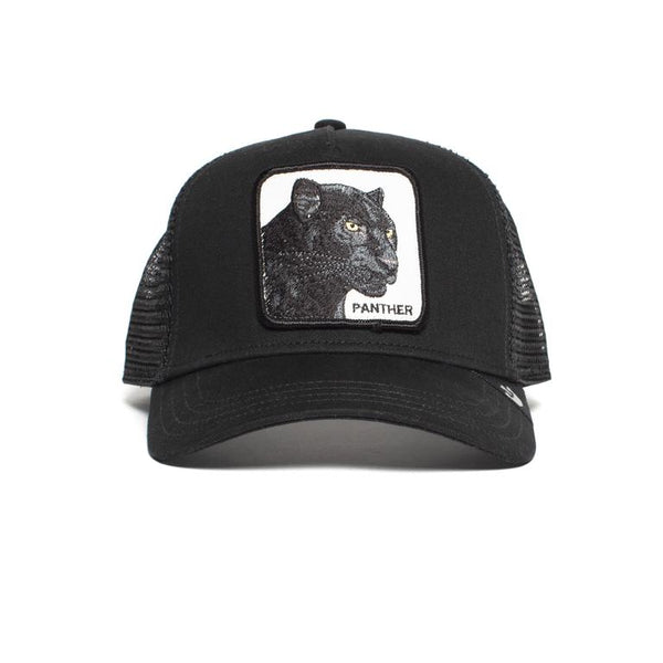 Goorin Bros Animal Farm Trucker Hat Black Panther Front