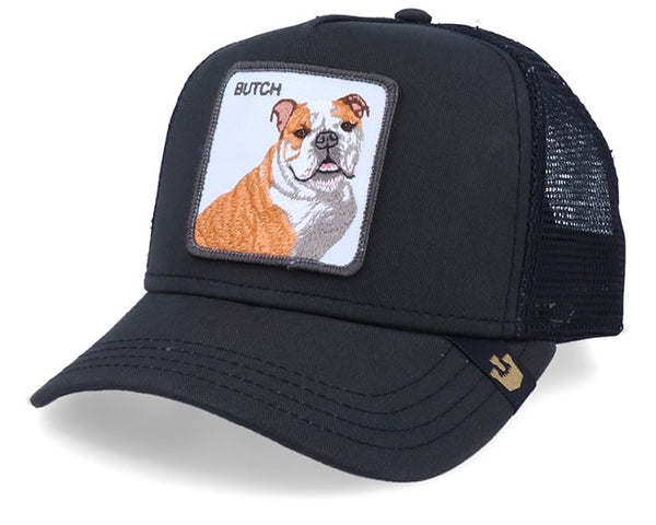 Goorin Bros - Butch Animal - Black Trucker Cap