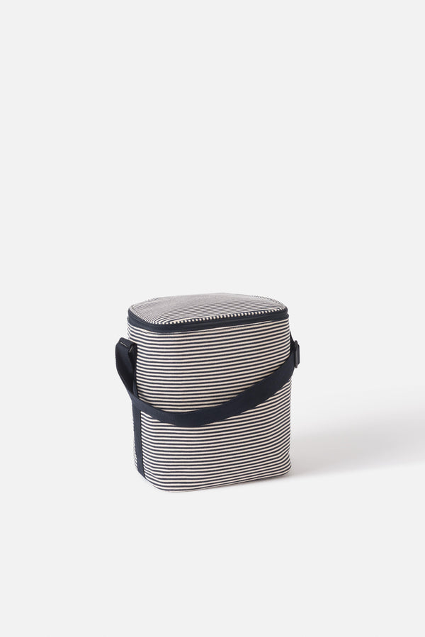 Stripe Cooler Bag- Medium