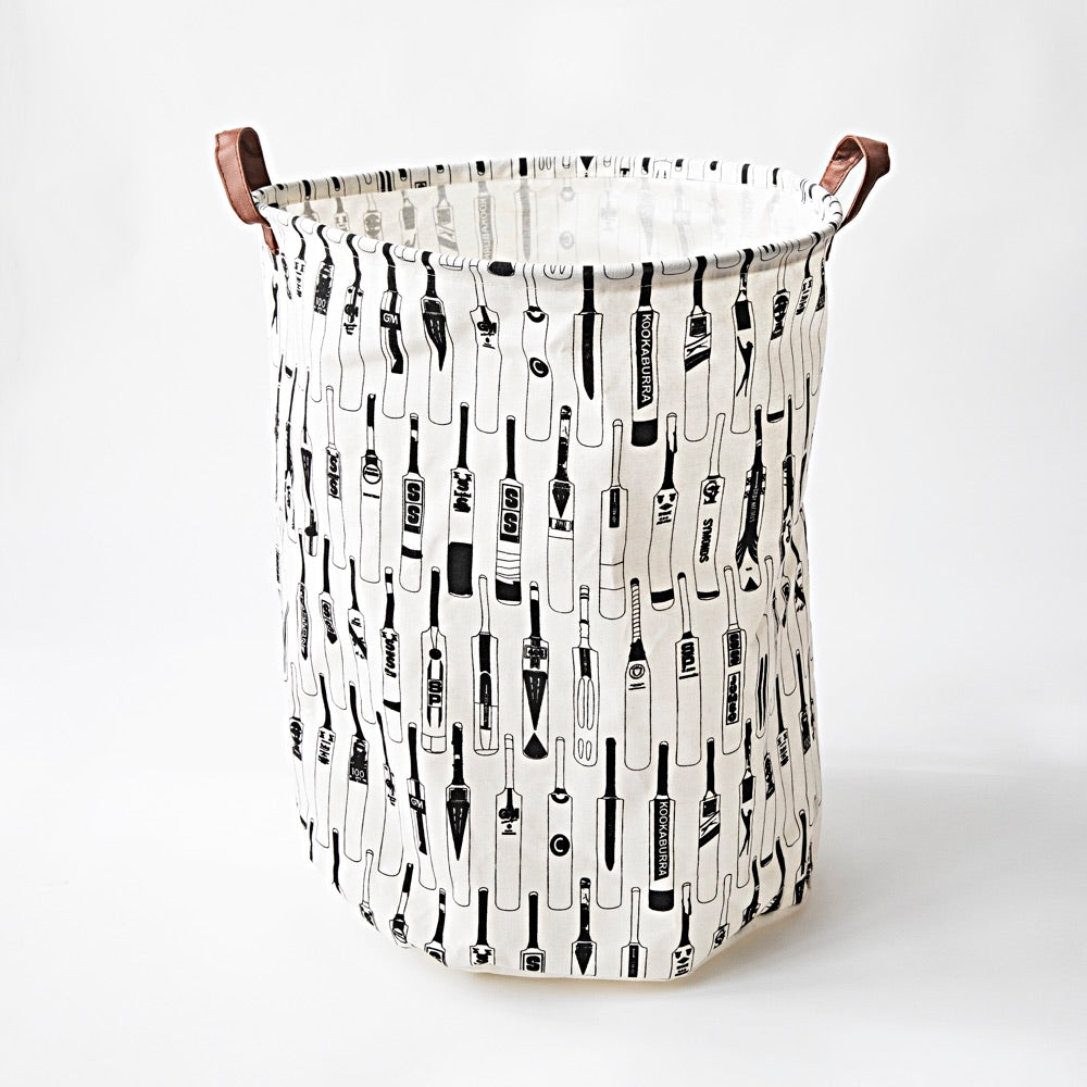 Vintage Bats Canvas Laundry Hamper