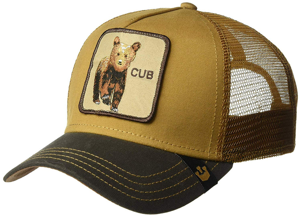 Goorin Bros Animal Farm Trucker Hat Brown Cub