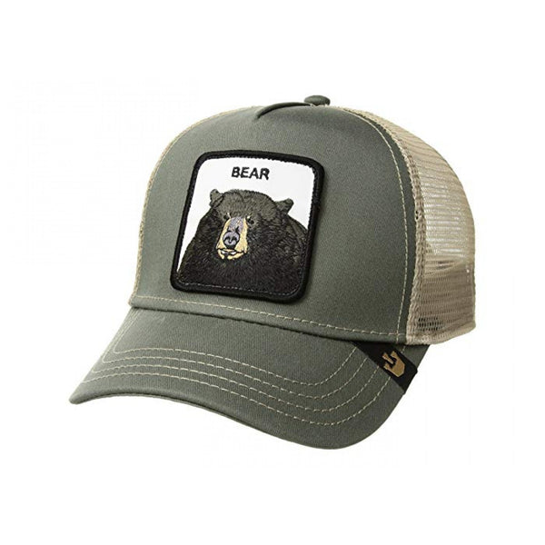 Goorin Bros Animal Farm Trucker Hat Olive Drew Bear