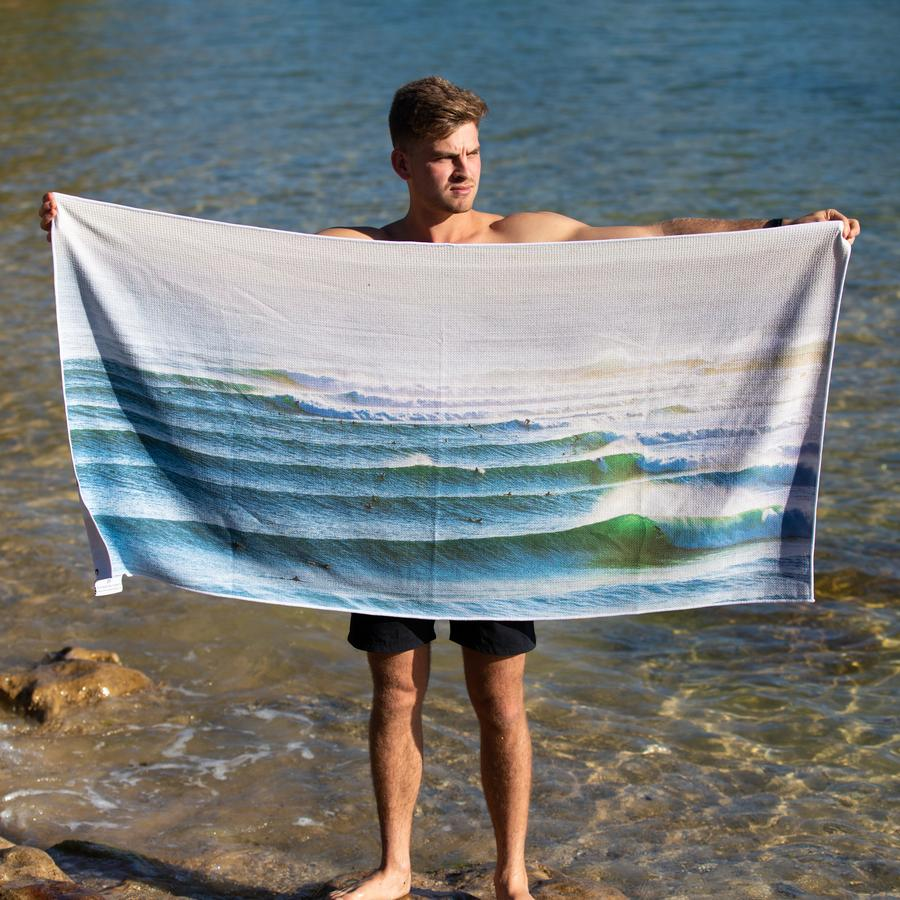 Beach Towel- Endless Lines