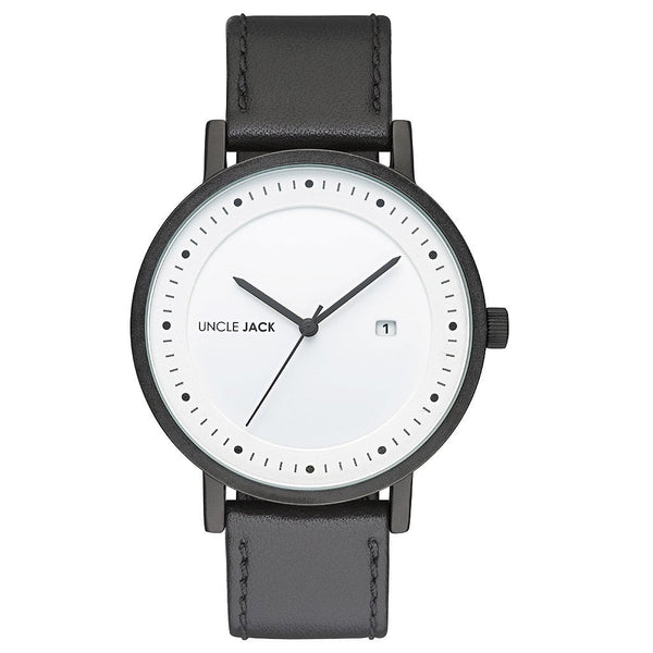 Uncle Jack Black & White Watch