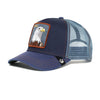 Goorin Bros Animal Farm Trucker Hat Navy Flying Eagle