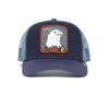 Goorin Bros Animal Farm Trucker Hat Navy Flying Eagle Front