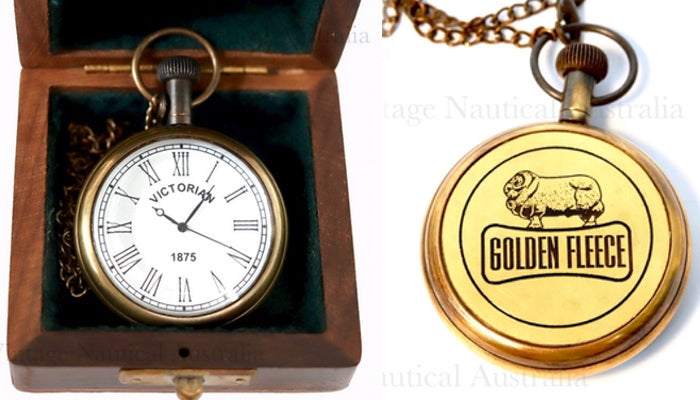 Pocket Watch- Golden Fleece