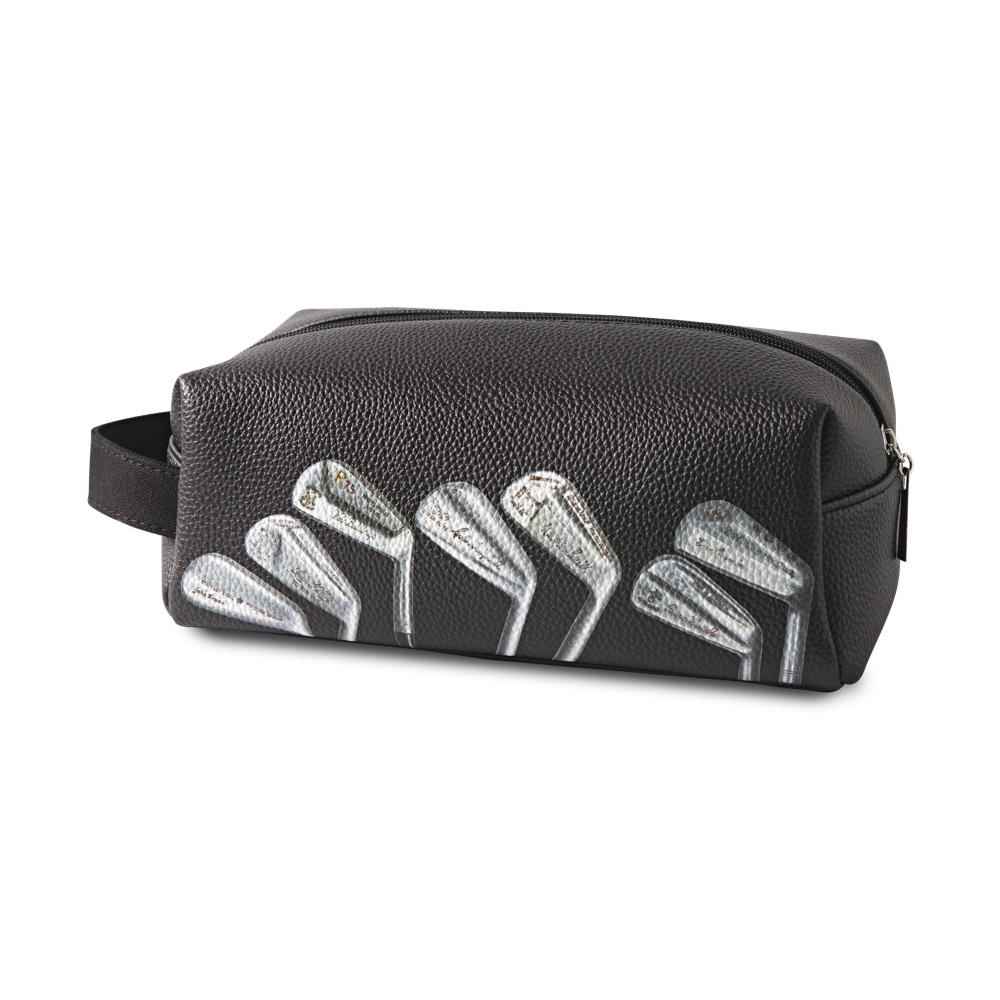 Vintage Golf Clubs Wash Bag