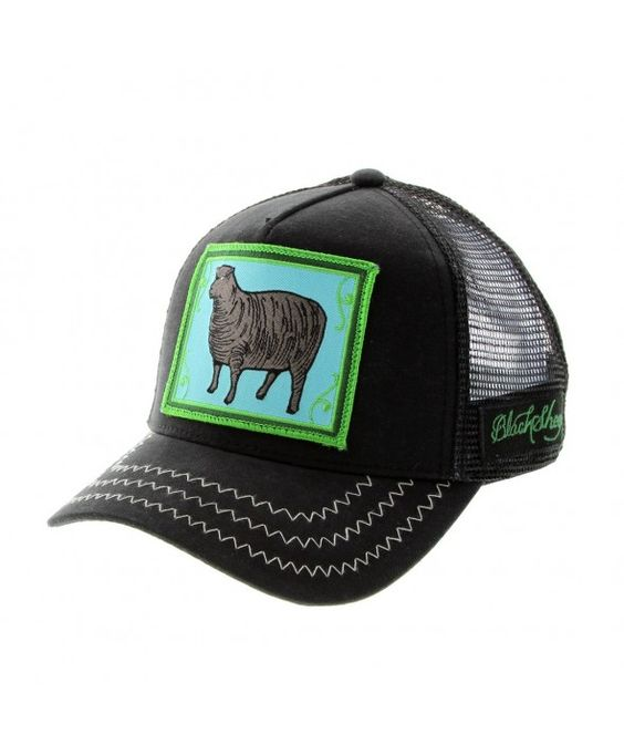 Goorin Bros Animal Farm Trucker Hat Black Sheep