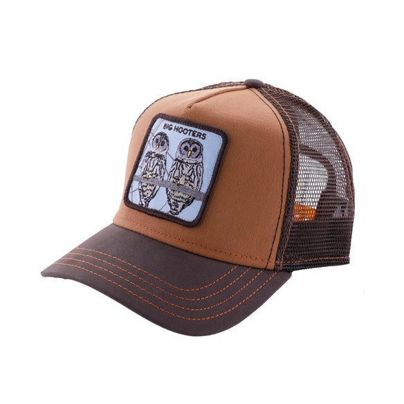Goorin Bros Animal Farm Trucker Hat Brown Big Hooters