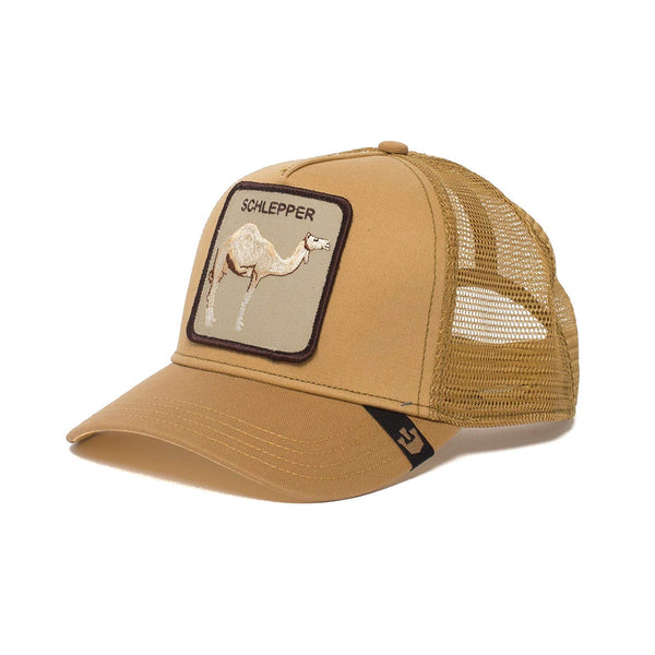 Goorin Bros Animal Farm Trucker Hat Brown Hump Day Schlepper