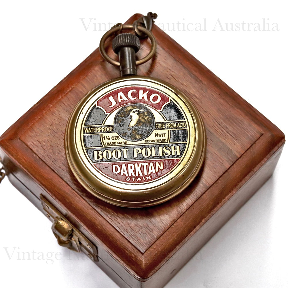 Pocket Watch- Jacko Boot Polish