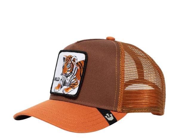 Goorin Bros - Wild Tiger - Brown Kids Trucker Cap