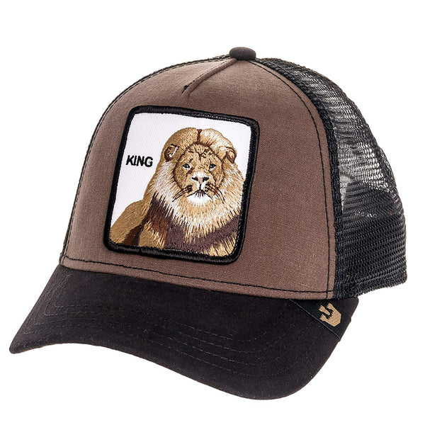 Goorin Bros Animal Farm Trucker Hat Brown Lion King