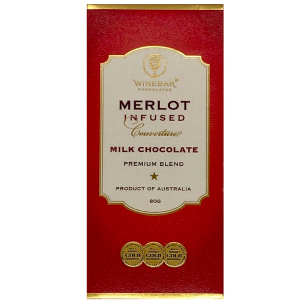 Merlot Infused Milk Chocolate