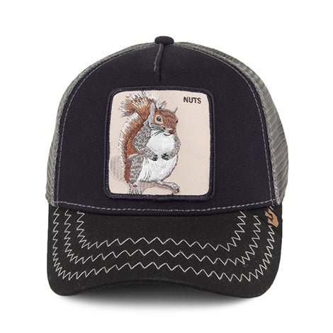 Goorin Bros Animal Farm Trucker Hat Navy Squirrel Master Nuts