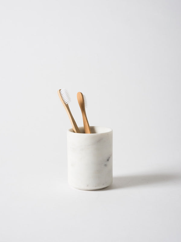 Ora Marble Toothbrush Holder