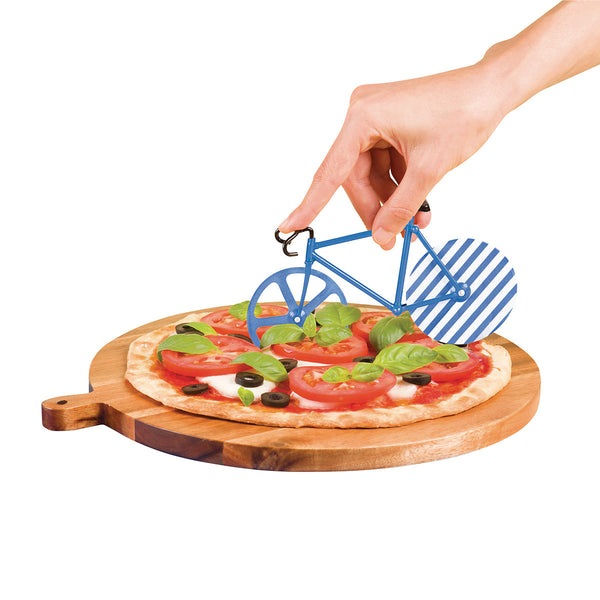 The Fixie Patterned Pizza Cutter