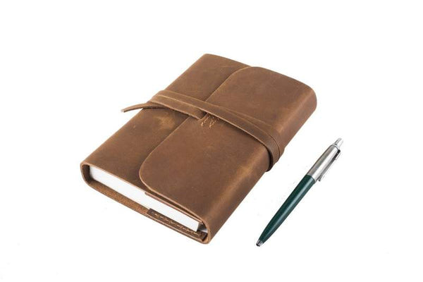 Leather Journal - Refillable A6