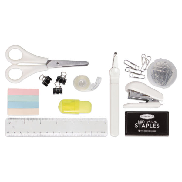 Vegan Leather Office Supply Kit