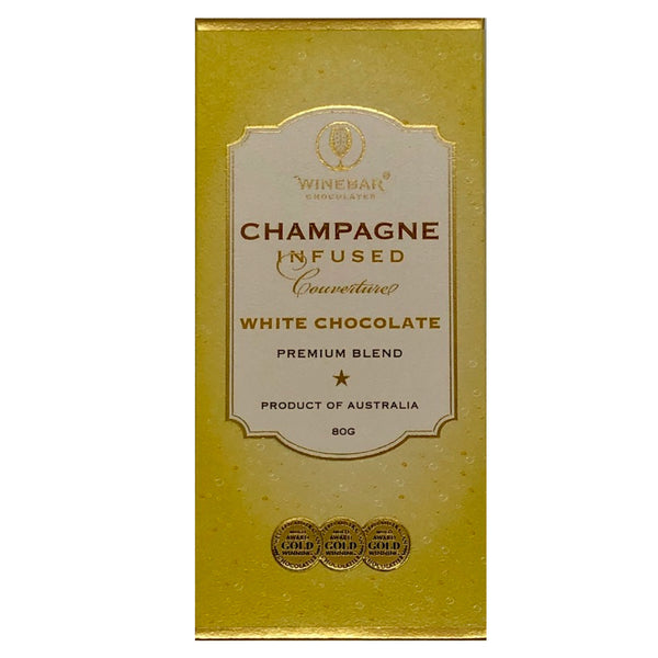 Champagne Infused White Chocolate