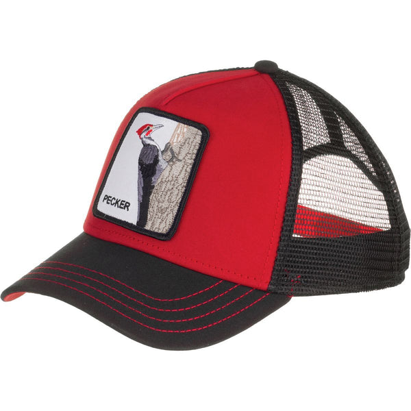 Goorin Bros Animal Farm Trucker Hat Red Woody Wood Pecker
