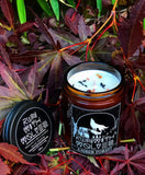 Amber Forest Natural Soy Wax Candle - Run With Wolves
