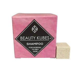 Shampoo Cubes for Normal to Dry Hair - Beauty Kubes - REDUCED - BBE FEB'20