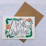 A Bizillion Birthday Wishes - Plantable Wildflower Greetings Card - Loop Loop