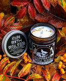 Mini Ginger Solstice Christmas Soy Wax Candle 60ml - Run With Wolves