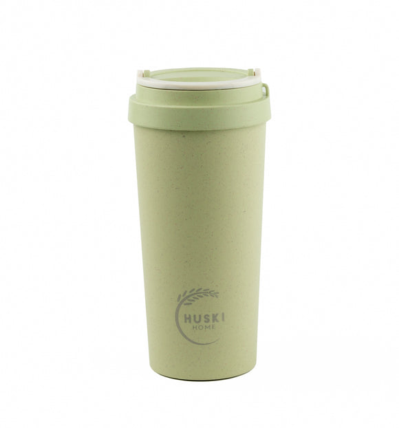 Rice Husk Travel Cup - Pistachio Green 500ml (Large) - Huski Home