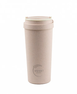 Rice Husk Travel Cup - Rose Pink 500ml (Large) - Huski Home