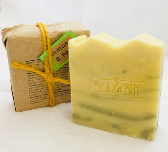 Lemon & Herb Handmade Natural Soap - Bean & Boy